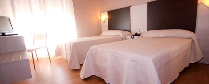 Hotel Fornos habitaciones