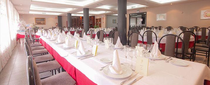 Hotel Fornos restaurante comedor Principal