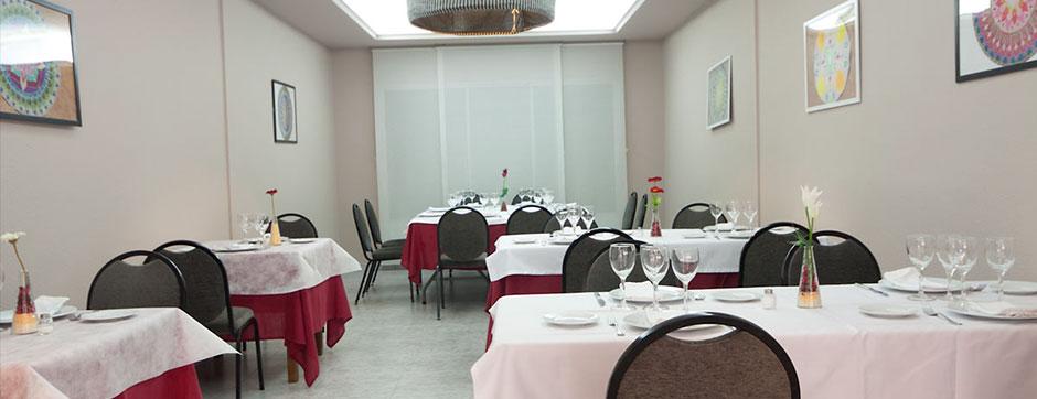 Hotel Fornos restaurante salón