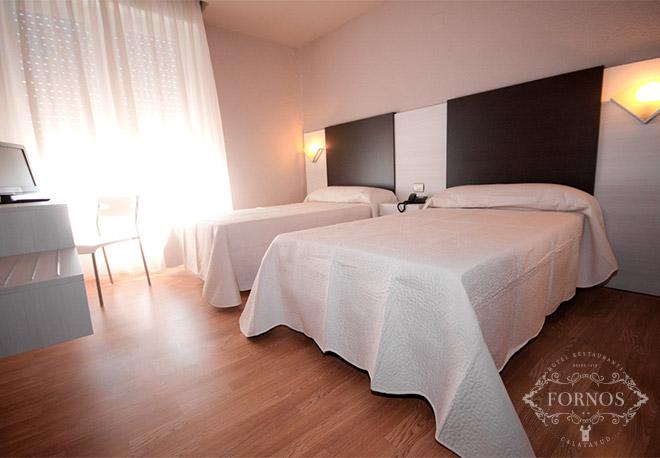 Hotel Fornos habitaciones dobles